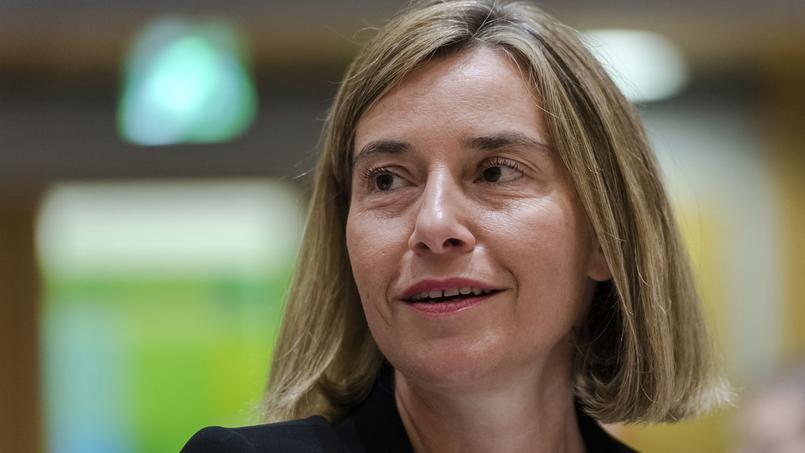 L'Italienne Federica Mogherini, cheffe de la diplomatie de l'Union européenne.