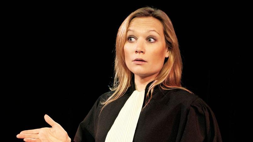 Caroline Vigneaux, de la salle d'audience aux one-woman-show auPalais des Glaces (Xe).