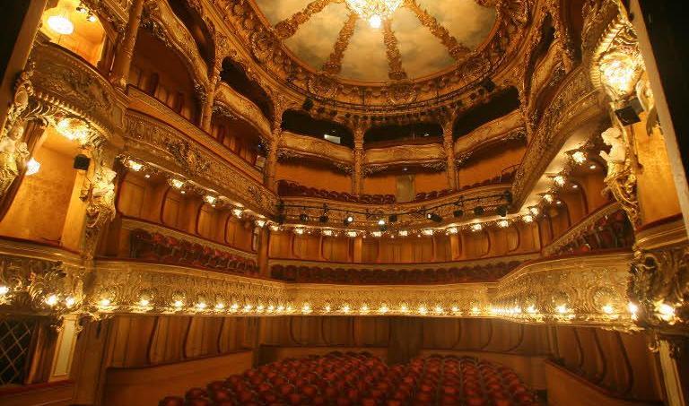 Le théâtre de l'Athénée Louis-Jouvet (Paris IXe).