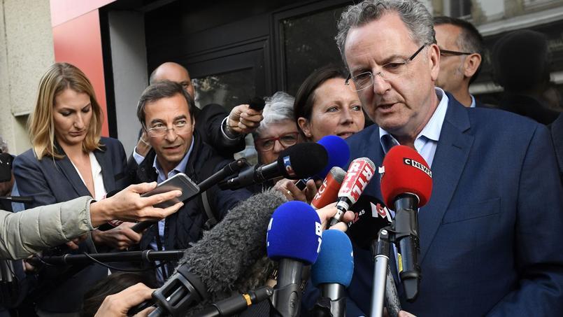 Le ministre Richard Ferrand est arrivé en tête dans la 6e circonscription du Finistère avec 33,93% des voix.