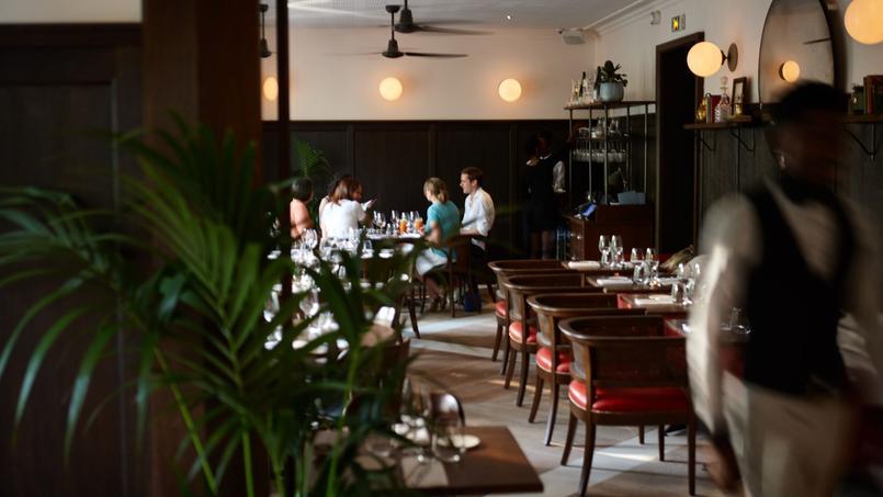 Le restaurant Nola, à l'étage de Two Stories (Paris Xe).