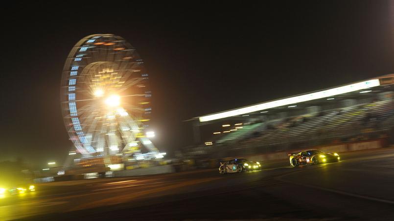 Au Mans, le spectacle est aussi autour de la piste