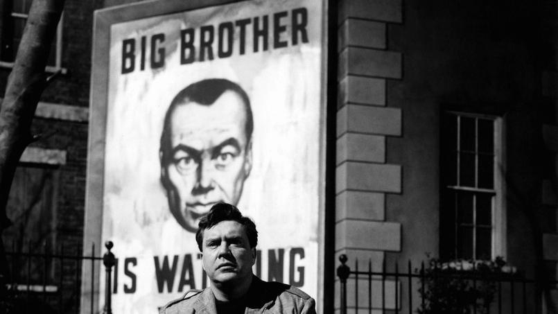 Edmond O'Brien interprétant Winston Smith dans l'adaptation cinématographique de «1984» réalisée par Michael Anderson en 1956.