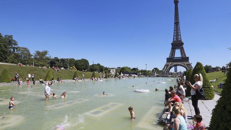 À Paris, le thermomètre avoisinera les 30°C ce week-end.