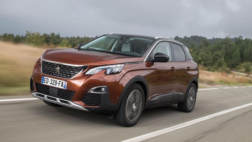 Les lignes du Peugeot 3008 comptent pour beaucoup dans son succès.