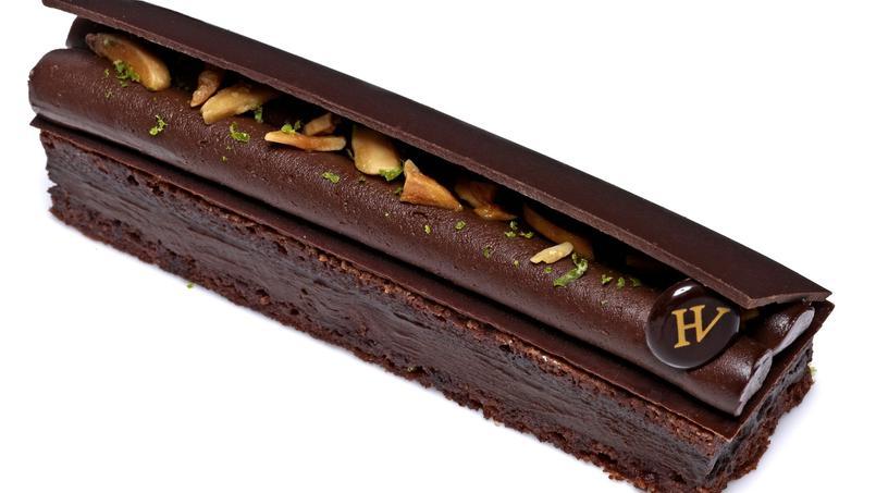 Pour l'occasion, le pâtissier parisien Hugo & Victor met en vedette sa ganache chocolat noir au poivre de Sichuan
