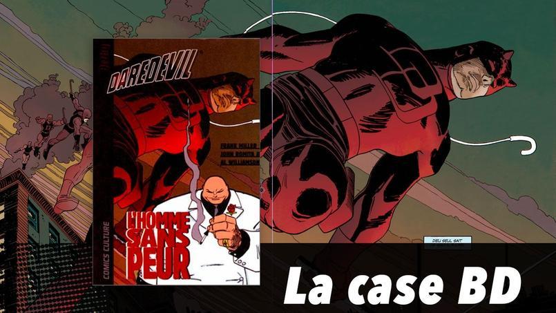 «Daredevil», l'homme sans peur, est un super-héros dans un univers sombre. Un personnage né une fois encore dans la tragédie, et dont le destin en fait un des personnages les plus populaires de l'univers Marvel.