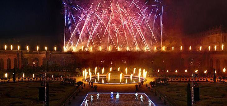 Un spectacle pyrotechnique Louis XIV , Le Roi de Feu, sera organisé à Versailles le 6, 7, 12 et 14 juillet 2017.