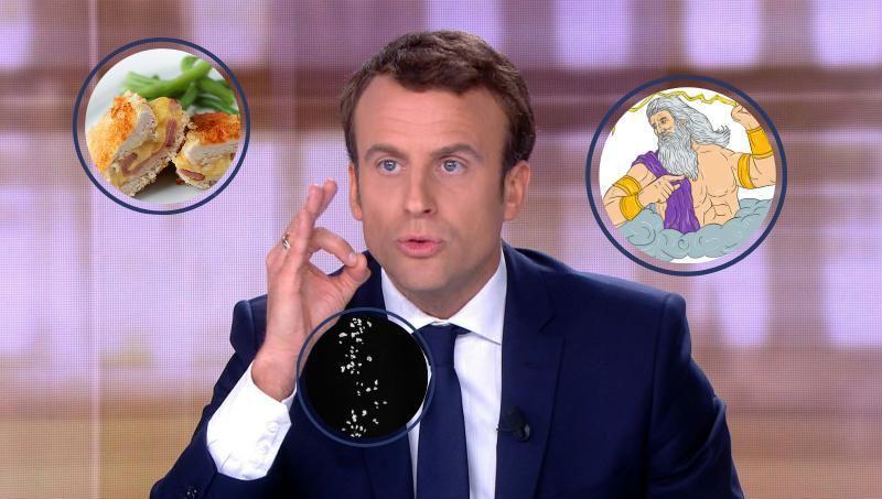Le président Emmanuel Macron manie l'art oratoire de nos aïeux.