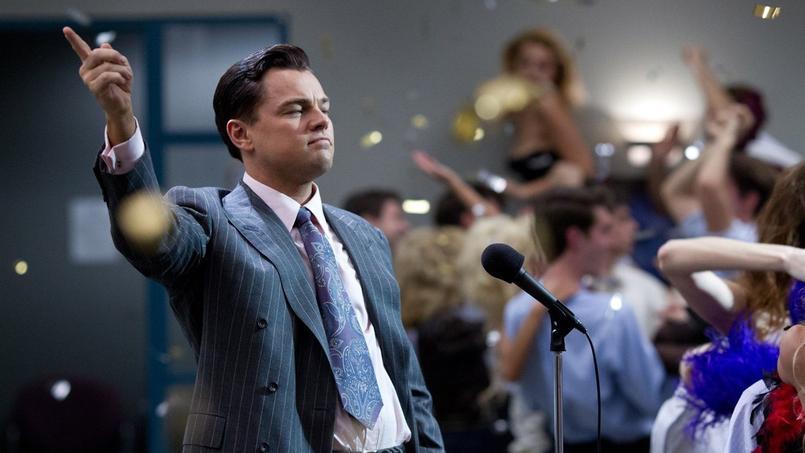Leonardo DiCaprio dans Le Loup de Wall Street