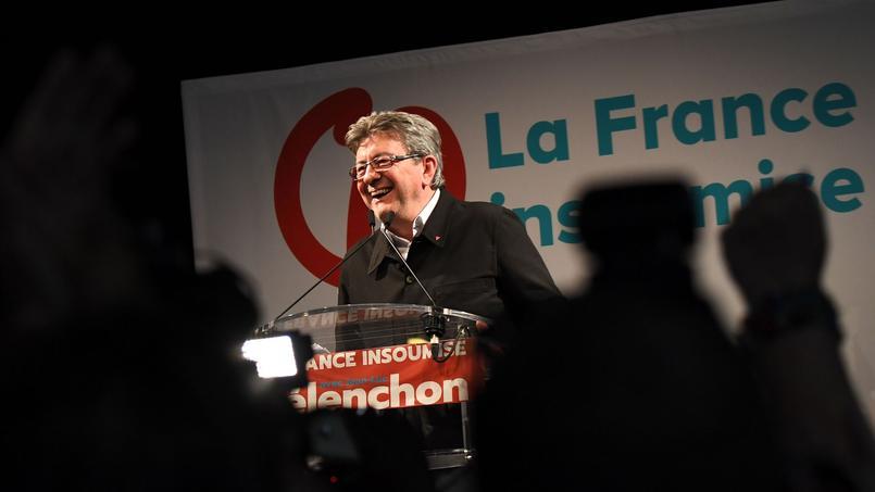Jean-Luc Mélenchon à Marseille (Bouches-du-Rhône), le 18 juin 2017.
