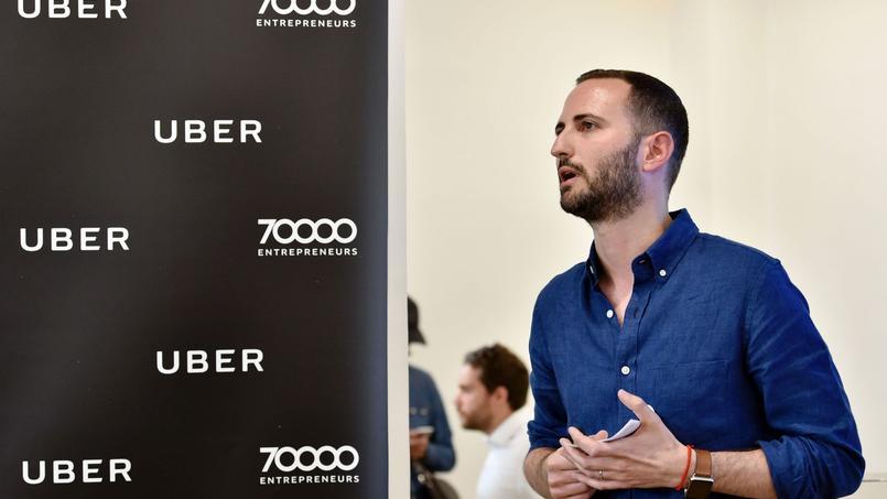 Steve Salom, directeur général d'Uber en France.