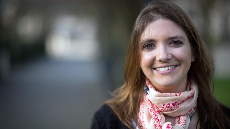 Aurore Bergé à Magny-Les-Hameaux, le 18 janvier 2014.
