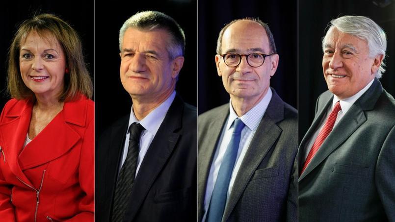 Brigitte Kuster, Jean Lassalle, Éric Woerth et Claude Goasguen.