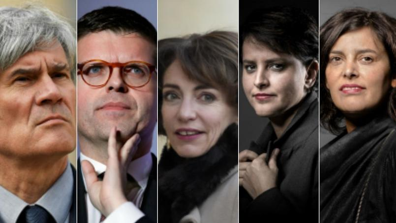 Stéphane Le Foll, Luc Carvounas, Marisol Touraine, Najat Vallaud-Belkacem et Myriam El Khomri.