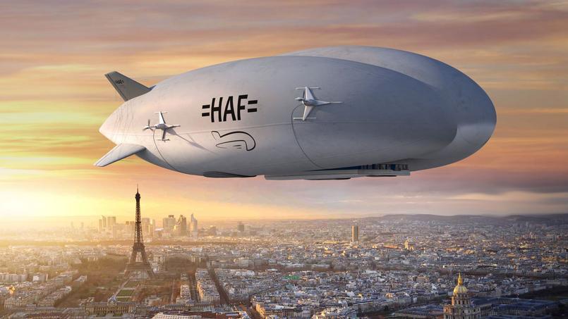 HAF utilisera ce dirigeable hybride, développé par Lockheed Martin, pour livrer du fret.