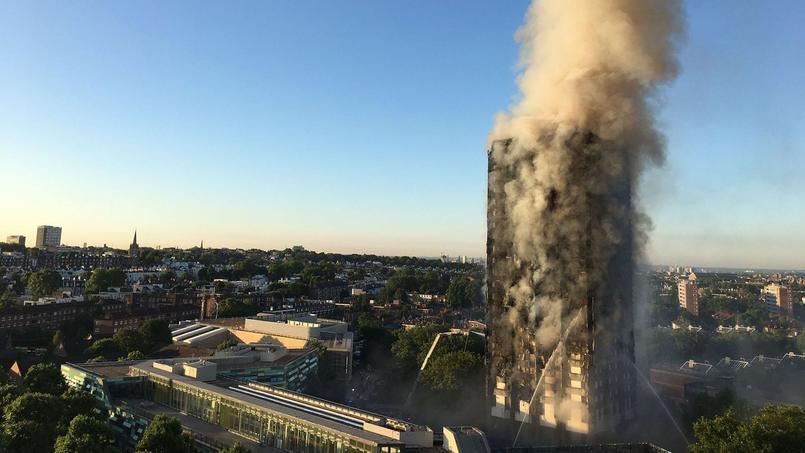 Après l'incendie de Londres, la France contrôle ses propres normes