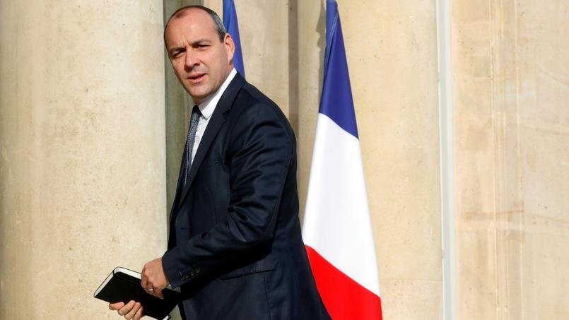 Laurent Berger, le secrétaire général de la CFDT, ici à son arrivée à l'Élysée le 23 mai pour une rencontre officielle avec le président de la République.