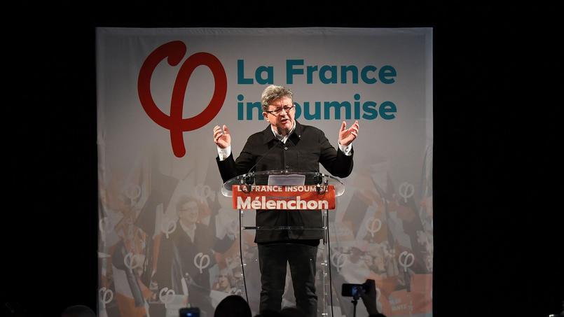 Mélenchon désigné à la tête des députés de La France Insoumise