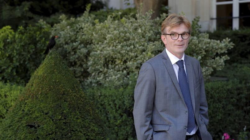 Le nouveau président du groupe MoDem Marc Fesneau