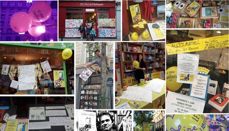 La 3e édition du Pari des libraires se déroule le 30 juin 2017 dans toute la capitale.