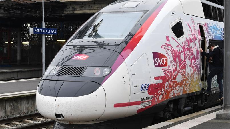 Les nouvelles rames TGV Océane offrent plus de confort aux passagers de l'axe Paris-Bordeaux.