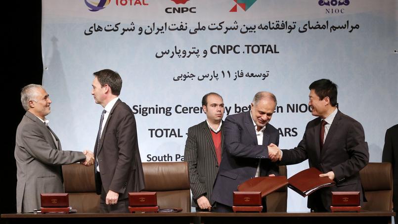 Total opère un retour remarqué en Iran