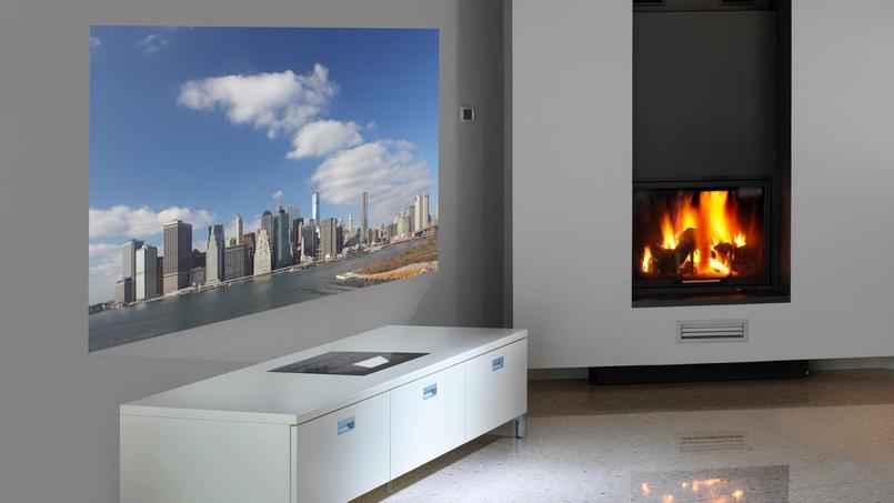 la maison les vid oprojecteurs se mettent au pied du mur. Black Bedroom Furniture Sets. Home Design Ideas