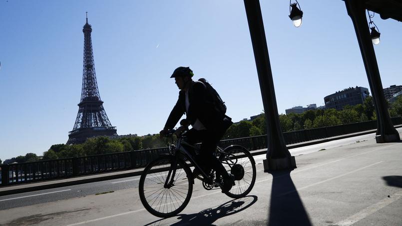 La voie sur berge Georges Pompidou réduite à une file — Paris
