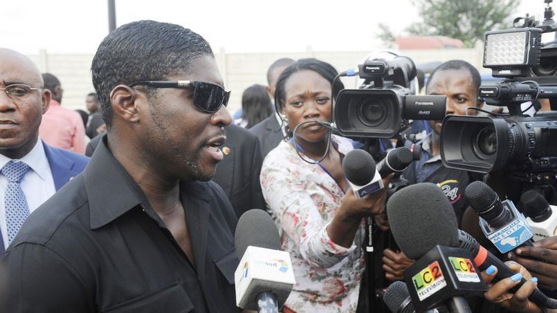Teodorin Obiang en décembre 2014