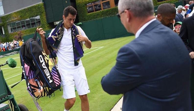 Amendes pour Medvedev et Tomic — Wimbledon