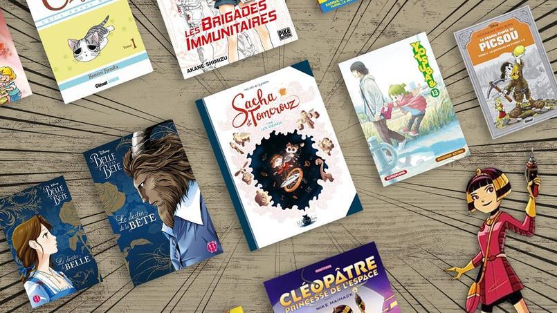 Bédés, manga, comics, difficile de s'y retrouver dans cette offre pléthorique. Le Figaro a sélectionné dix titres destinés aux enfants et adolescents pour accompagner les vacances estivales.