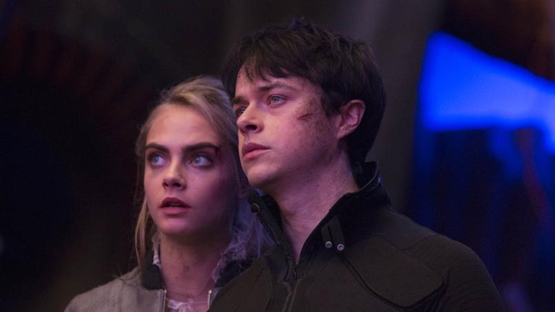 Le duo Valérian-Laureline interprété à l'écran par Cara Delevingne et Dane DeHaan.