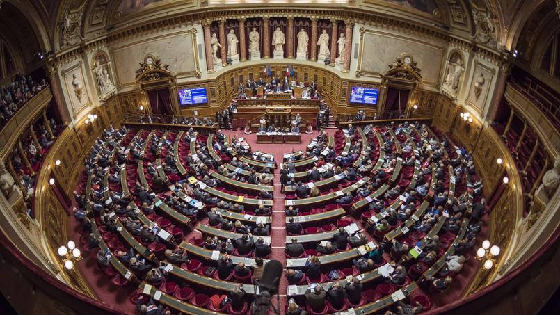 L'hémicycle du Sénat, le 17 novembre 2016.