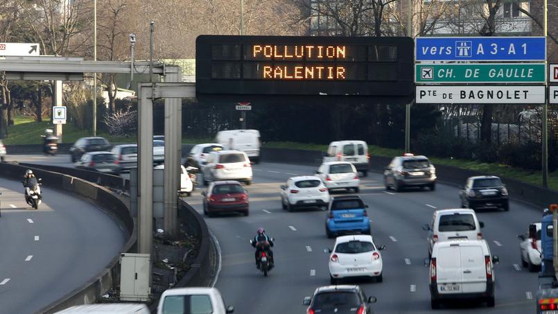 Le gouvernement rappelé à l'ordre par le Conseil d'État — Pollution de l'air