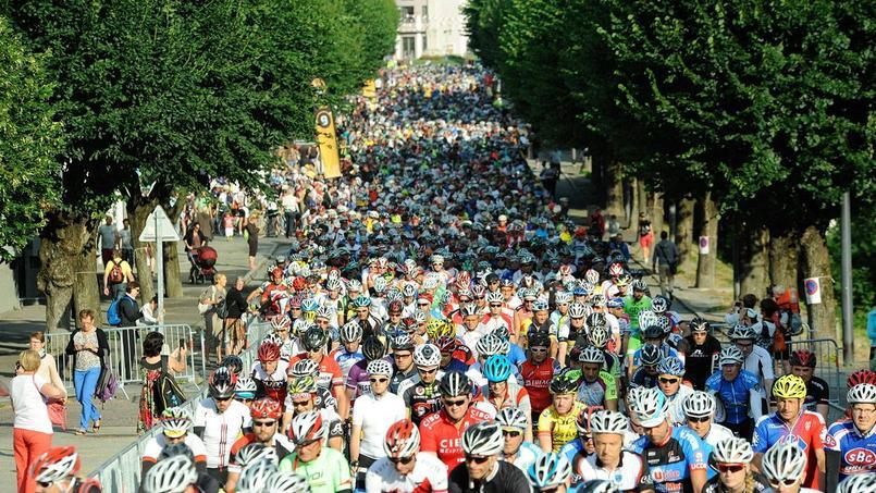 Il y aura foule, dimanche, au départ de la traditionnelle Etape du Tour réservée aux amateurs.