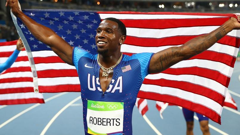 Gil Roberts à Rio l'été dernier