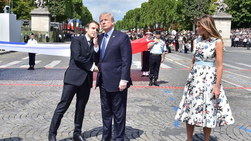 «Donald Trump m'a écouté», déclare le président Emmanuel Macron dans le Journal du dimanche.