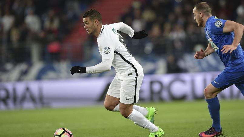 Hatem Ben Arfa en Coupe de France face à Avranches, le 5 avril dernier