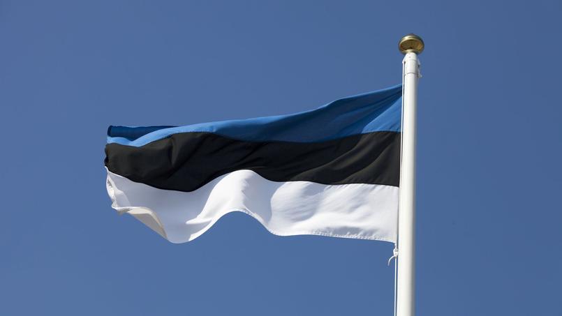 Le drapeau de l'Estonie