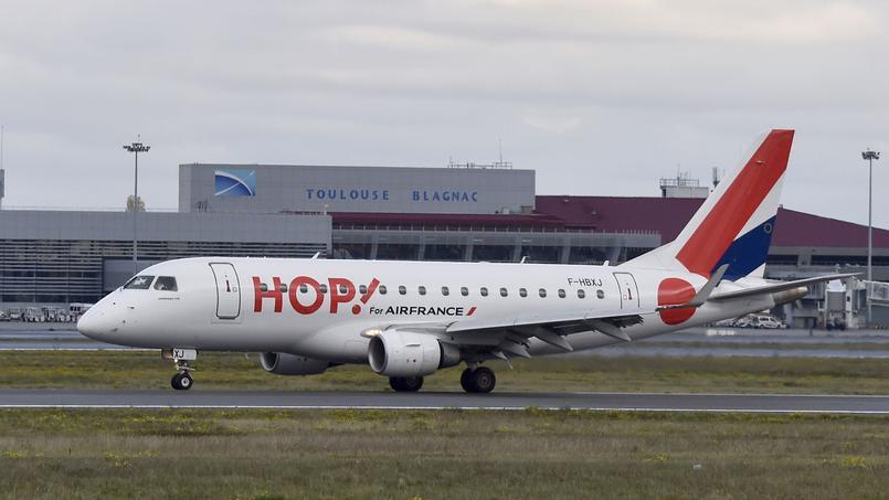 Les pilotes de Hop! poursuivent la grève, une partie des vols perturbés