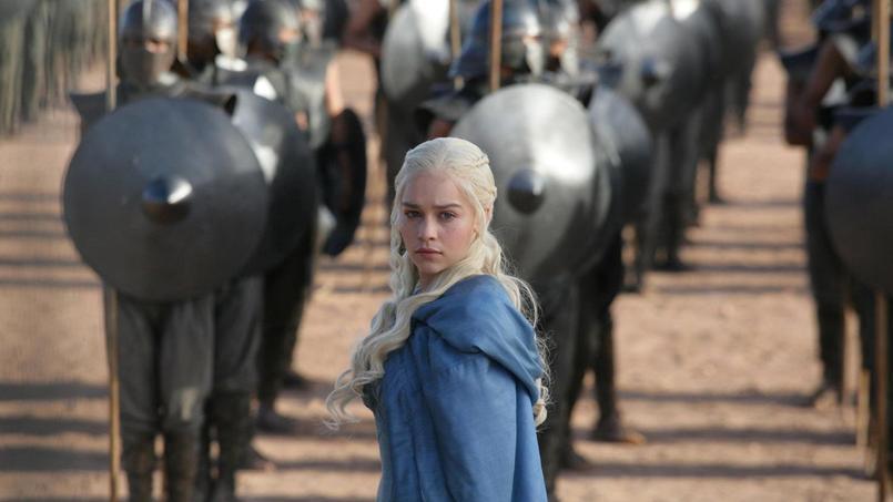 Emilia Clarke alias Daenerys Targaryen dans Game of Thrones
