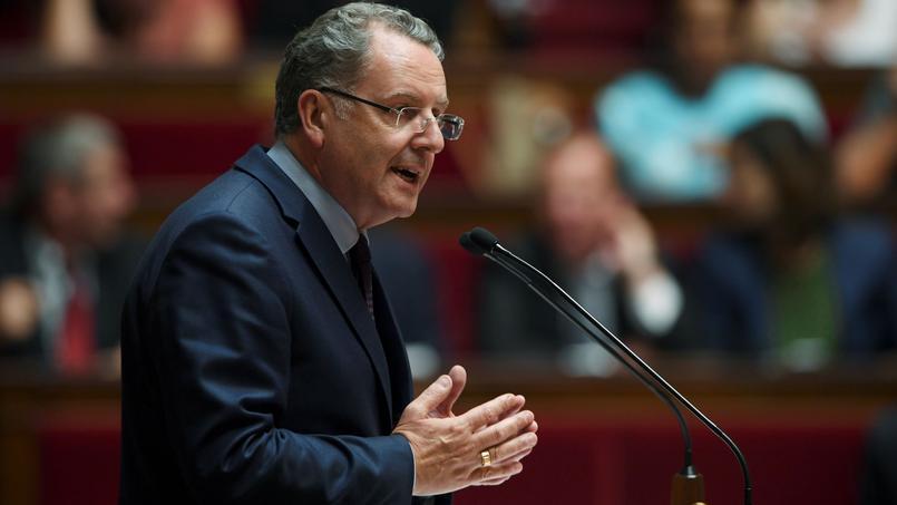 Richard Ferrand, président du groupe LREM de l'Assemblée
