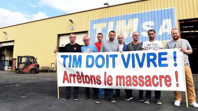 Nord : l'usine TIM, et ses 471 salariés, au bord de la liquidation
