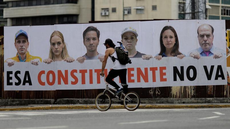 Depuis début avril, on dénombre officiellement plus d'une centaine de morts au Venezuela.