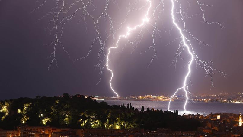 Les orages vont concerner, ce mlardi soir, le Grand-Est de la France. (Photo d'illustration)