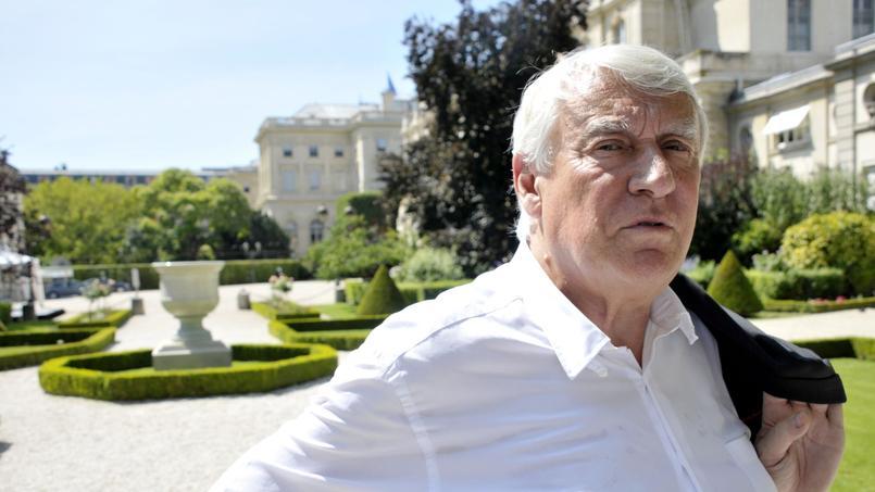 Le député LR du XVIe arrondissement de Paris, Claude Goasguen
