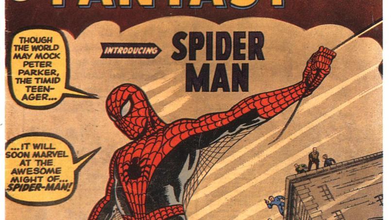 Spider-Man se montra pour la première fois à ses lecteurs en août 1962 dans ce quinzième numéro d 'Amazing Fantasy.