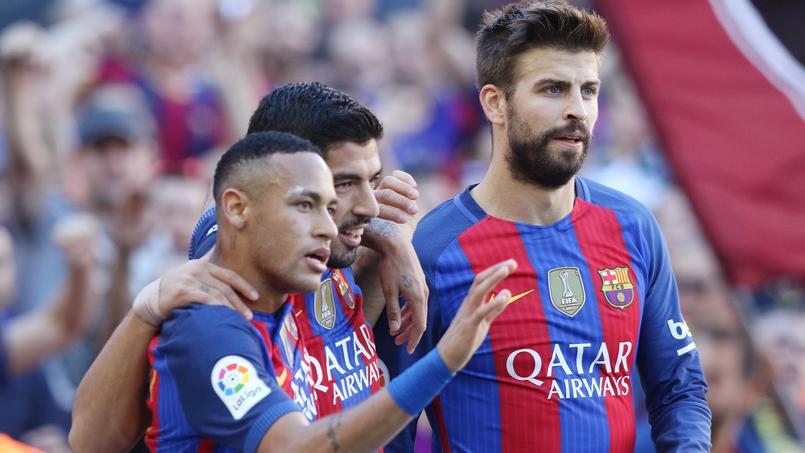 Neymar, les adieux classes de Piqué — Barça