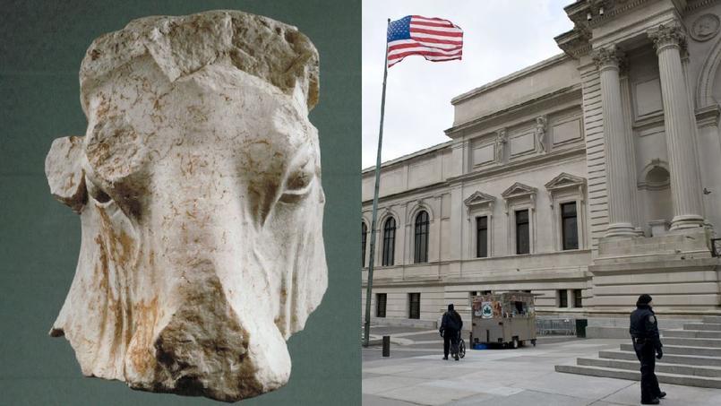Les autorités soupçonnent que la tête de taureau vieille de 2 300 ans a été volée pendant la guerre civile libanaise.